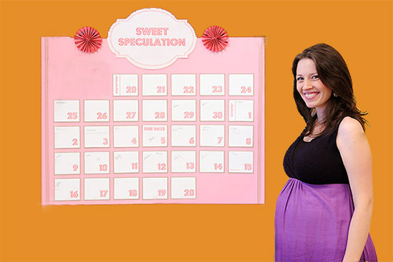 Pregnancy due Date Calendar Based on Conception
